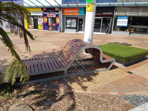 Porirua City Centre Public Seating